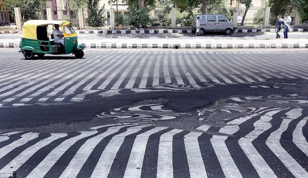 Chùm ảnh: Những hình ảnh nắng nóng khủng khiếp chỉ có ở Ấn Độ - Ảnh 1.