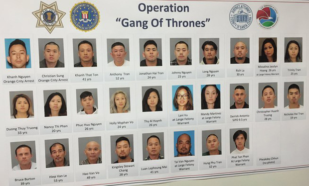 Cảnh sát Mỹ trấn áp một băng tội phạm gốc Việt quy mô lớn - Ảnh 1.
