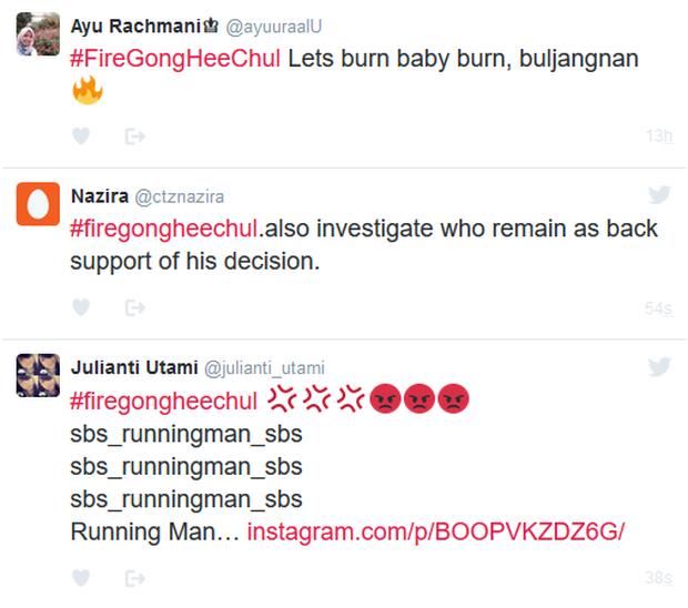 Fan phẫn nộ điều tra danh tính người đá Song Ji Hyo, Kim Jong Kook khỏi Running Man - Ảnh 6.