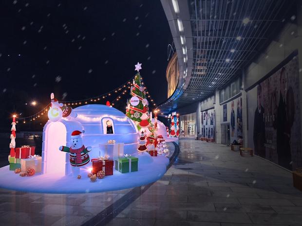 Thiên đường Giáng sinh ngay tại Crescent Mall - Ảnh 1.