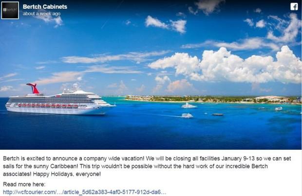Công ty Mỹ thưởng 800 nhân viên một tuần du lịchCaribbean - Ảnh 1.