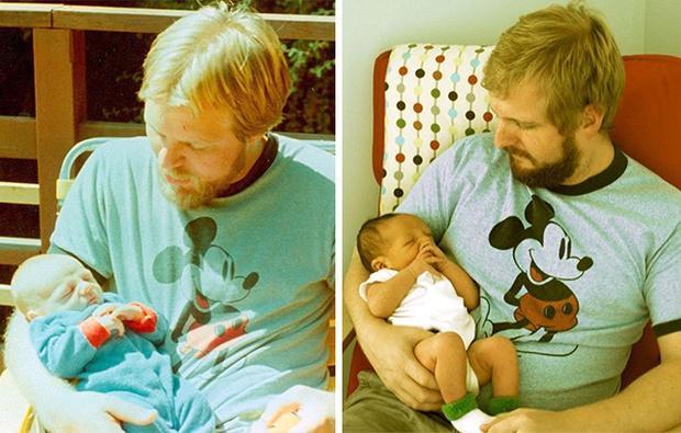 Sự giống nhau đáng kinh ngạc giữa các thế hệ trong cùng 1 gia đình - Ảnh 13.