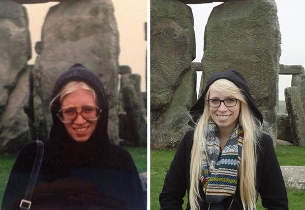 Sự giống nhau đáng kinh ngạc giữa các thế hệ trong cùng 1 gia đình - Ảnh 17.