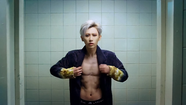 Những nghệ sĩ nam Hàn không thể ngừng phanh áo, khoe múi bụng săn chắc - Ảnh 4.