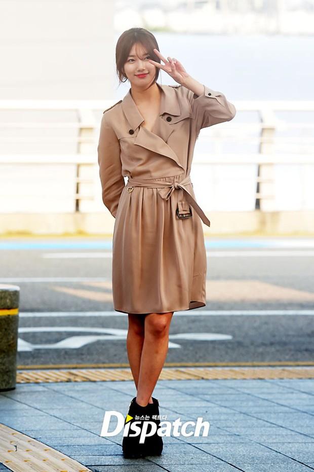 Tranh cãi xung quanh sự khác biệt giữa thái độ tại sân bay của Suzy và Krystal - Ảnh 2.