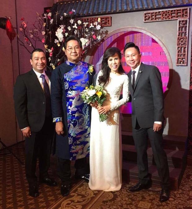 Giọng ca hải ngoại Mai Thiên Vân kết hôn với bạn trai quen 10 năm - Ảnh 1.