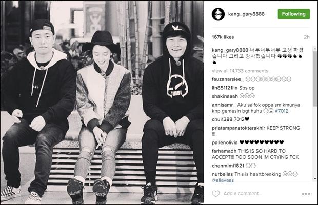 Gary có động thái bất ngờ trước tin Song Ji Hyo và Kim Jong Kook bị ép rời Running Man - Ảnh 3.