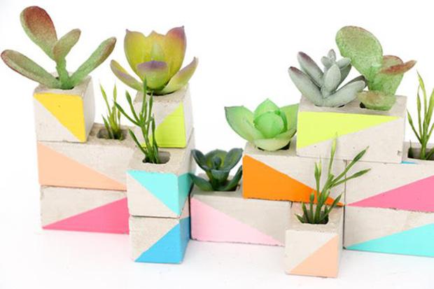 Thiết kế khu vườn siêu mini từ những ô gạch nhỏ - Ảnh 7.