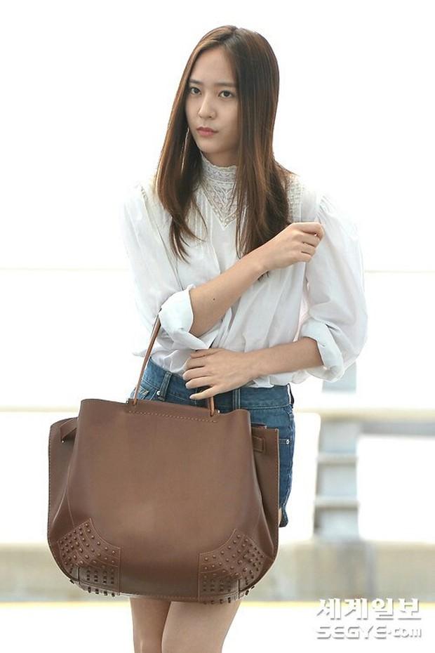 Tranh cãi xung quanh sự khác biệt giữa thái độ tại sân bay của Suzy và Krystal - Ảnh 3.
