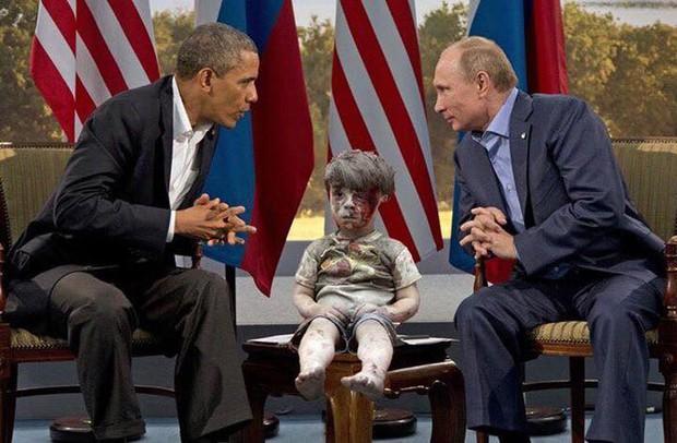 Em bé 5 tuổi bị không kích: Khi ánh mắt lạnh lẽo và dửng dưng trở thành biểu tượng chiến tranh - Ảnh 4.