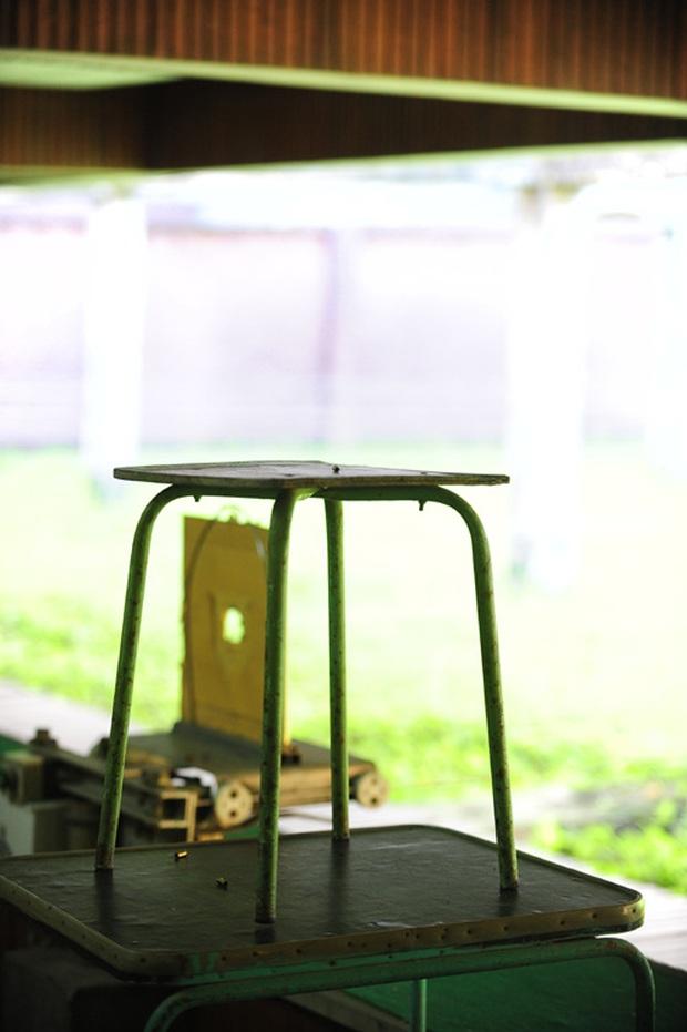 Cận cảnh trường bắn lạc hậu làm nên tên tuổi Hoàng Xuân Vinh - Ảnh 3.