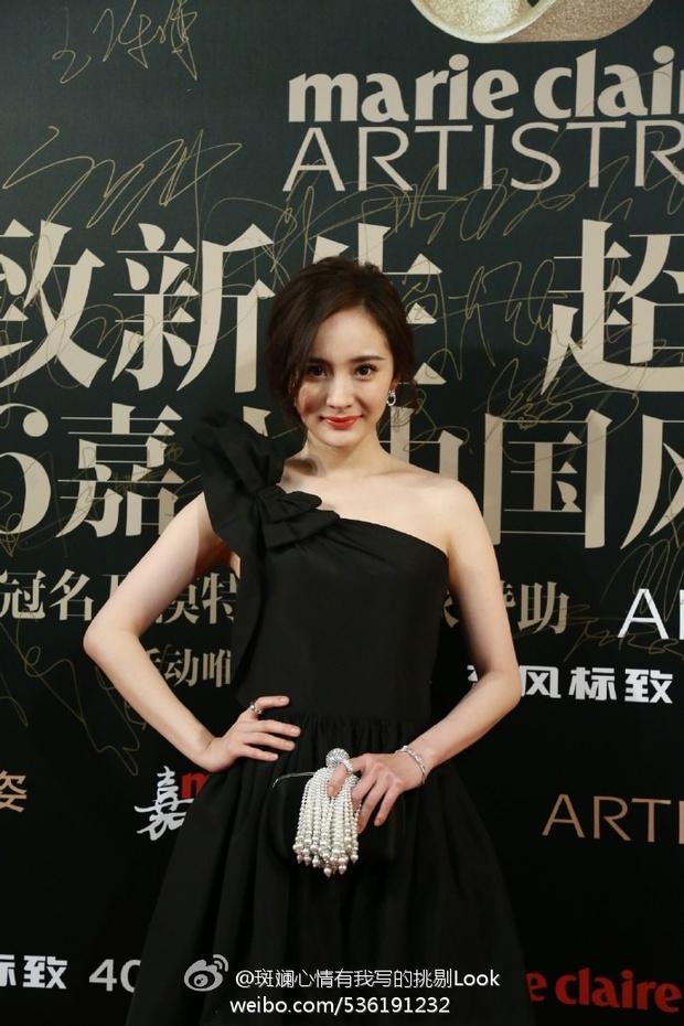 Đường Yên lần đầu xuất hiện bên bạn trai, Dương Mịch đẹp lộng lẫy vượt xa Triệu Vy trên thảm đỏ - Ảnh 7.