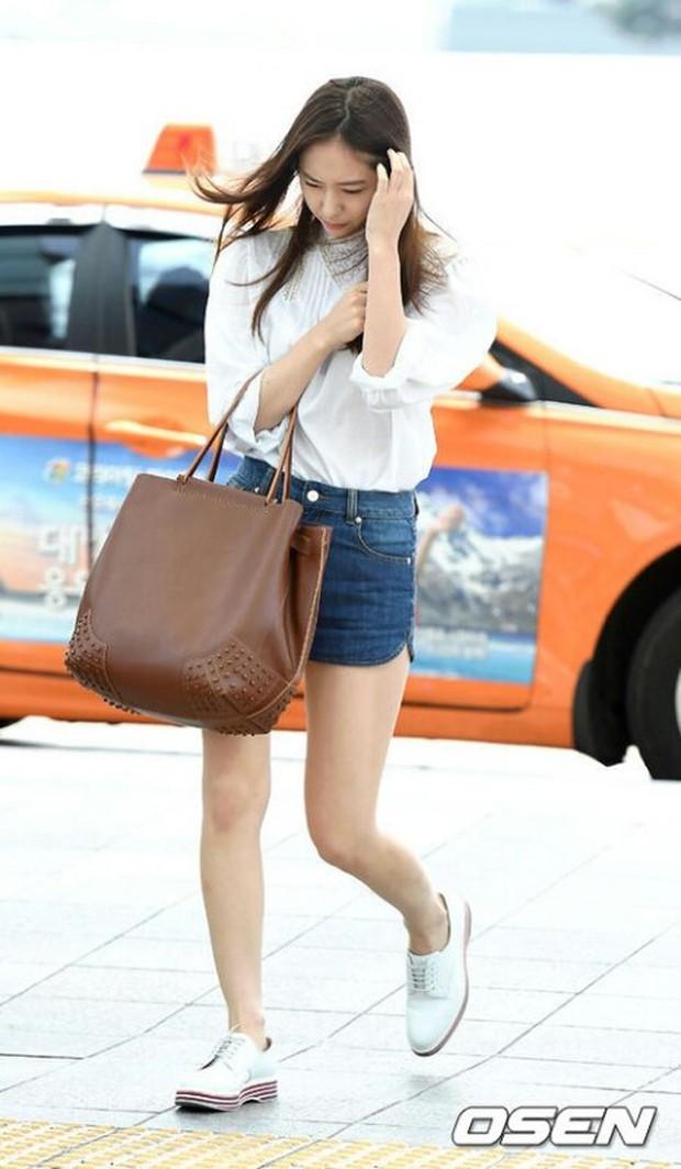 Tranh cãi xung quanh sự khác biệt giữa thái độ tại sân bay của Suzy và Krystal - Ảnh 5.