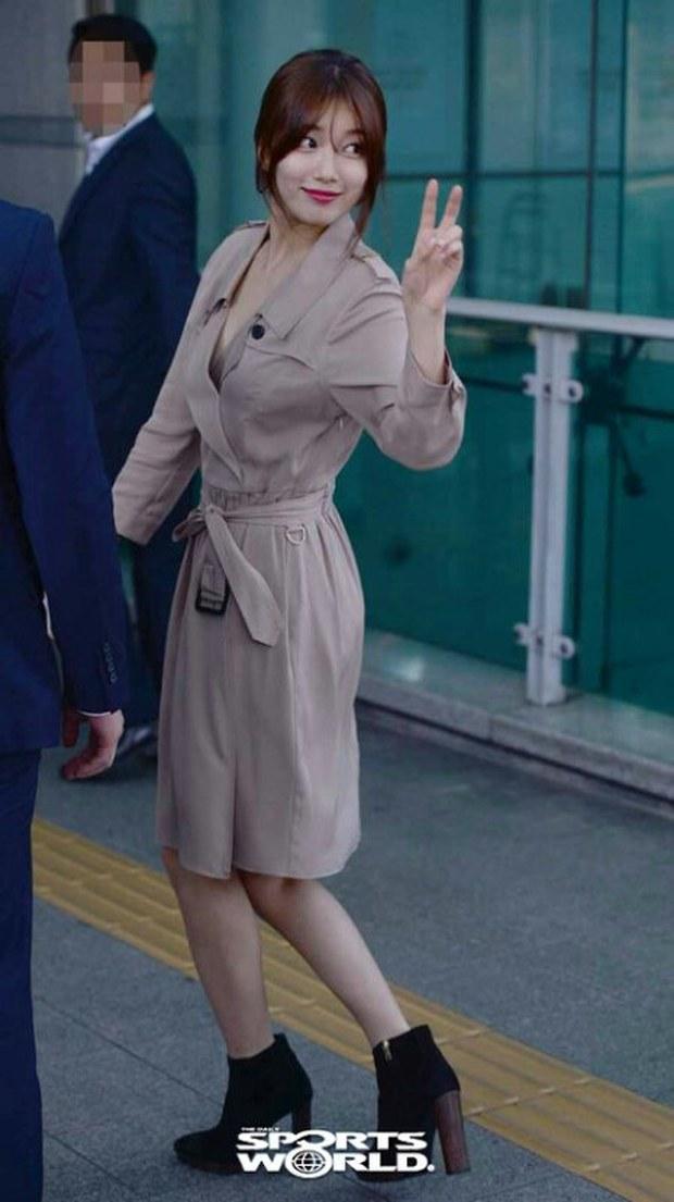 Tranh cãi xung quanh sự khác biệt giữa thái độ tại sân bay của Suzy và Krystal - Ảnh 6.