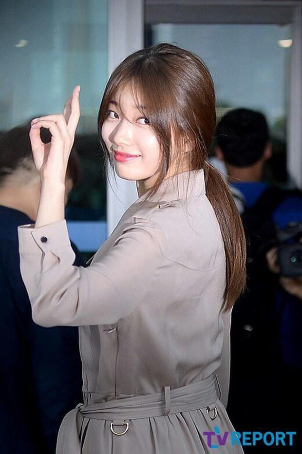 Tranh cãi xung quanh sự khác biệt giữa thái độ tại sân bay của Suzy và Krystal - Ảnh 8.
