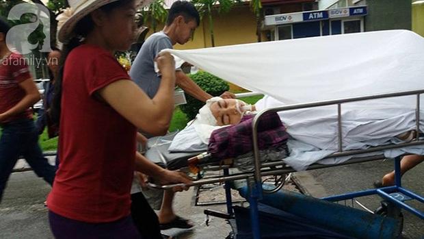 Lạ lùng cảnh phủ nilon, che ô tránh nước mưa cho bệnh nhân chờ mổ ở bệnh viện Việt Đức - Ảnh 9.