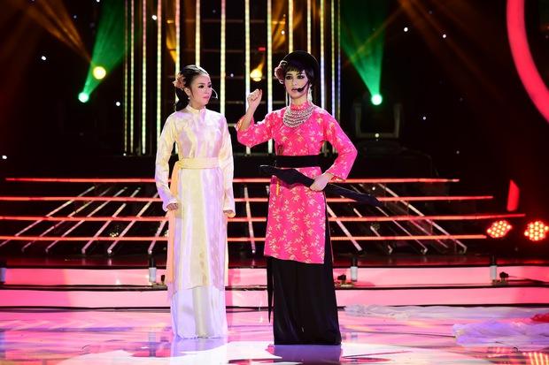 GMTQ: Hoài Linh bất ngờ khi Hòa Minzy hát cải lương quá hay - Ảnh 2.