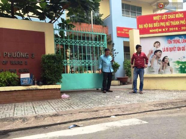 TP. HCM: Nổ súng trong trụ sở Ủy ban phường, một cán bộ tử vong - Ảnh 1.