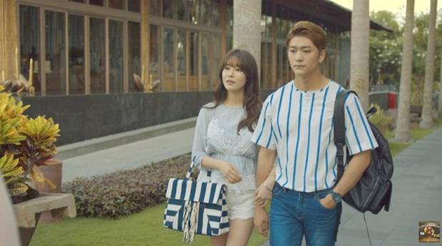 Linh (Nhã Phương) nắm tay Phong (Mạnh Trường) trước mặt Junsu (Kang Tae Oh) - Ảnh 8.