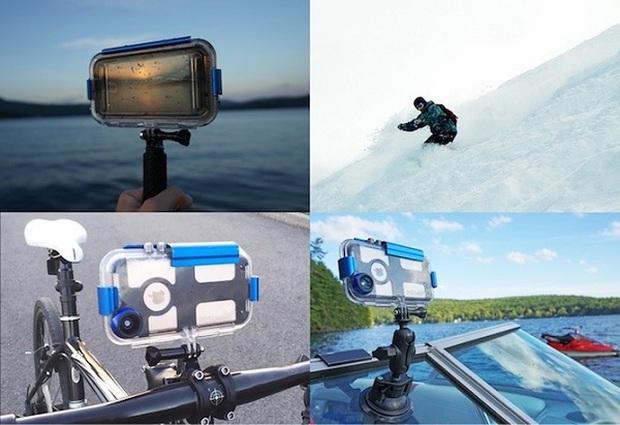 Tha hồ lặn biển chụp choẹt với chiếc ốp lưng dành riêng cho iPhone - Ảnh 3.