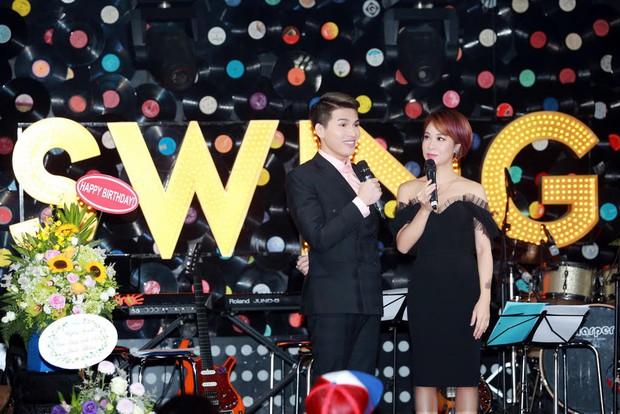 Uyên Linh, Lê Hiếu đến mừng đêm nhạc sinh nhật Quốc Thiên - Ảnh 8.