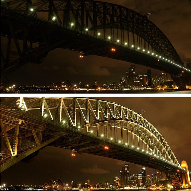 Các công trình nổi tiếng thế giới tắt đèn hưởng ứng Giờ Trái Đất 2016 - Ảnh 1.