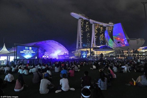 Các công trình nổi tiếng thế giới tắt đèn hưởng ứng Giờ Trái Đất 2016 - Ảnh 5.