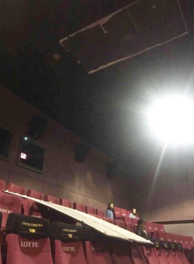 Vụ trần nhà rơi trúng đầu cô gái trẻ: Công an điều tra, toàn bộ hệ thống rạp chiếu phim Lotte tạm dừng hoạt động - Ảnh 1.