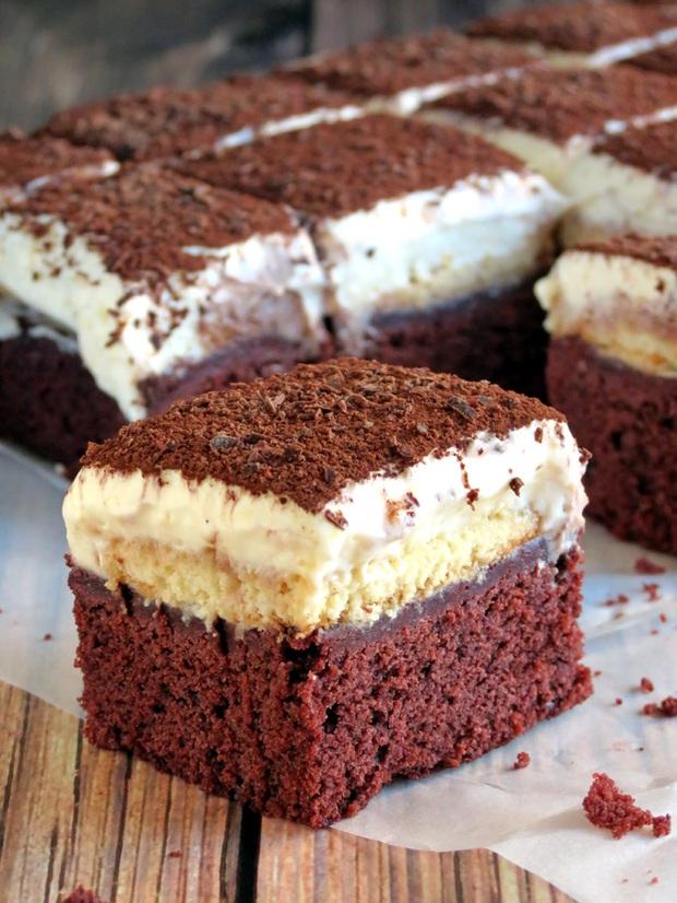 Bộ đôi hoàn hảo brownie vị tiramisu đủ sức đánh gục bất kì tín đồ chocolate nào! - Ảnh 10.
