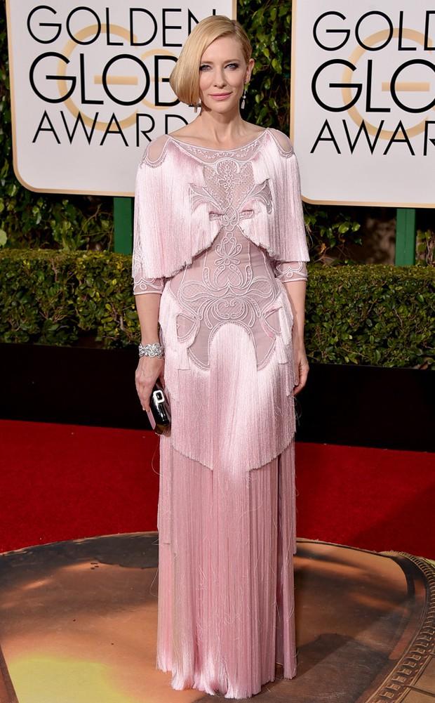 Katy Perry, Jennifer Lawrence và dàn sao lộng lẫy trên thảm đỏ Quả Cầu Vàng 2016 - Ảnh 12.