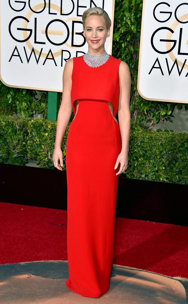 Katy Perry, Jennifer Lawrence và dàn sao lộng lẫy trên thảm đỏ Quả Cầu Vàng 2016 - Ảnh 2.