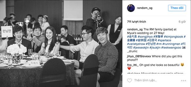 Hình ảnh 4 thành viên Running Man tại đám cưới Myuk PD bỗng được chia sẻ như vũ bão - Ảnh 5.