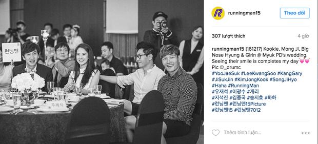 Hình ảnh 4 thành viên Running Man tại đám cưới Myuk PD bỗng được chia sẻ như vũ bão - Ảnh 6.