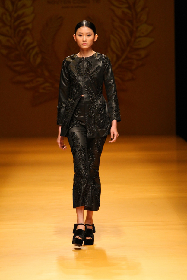 NTK Công Trí mang hồn lúa Việt đến Tokyo Fashion Week - Ảnh 3.