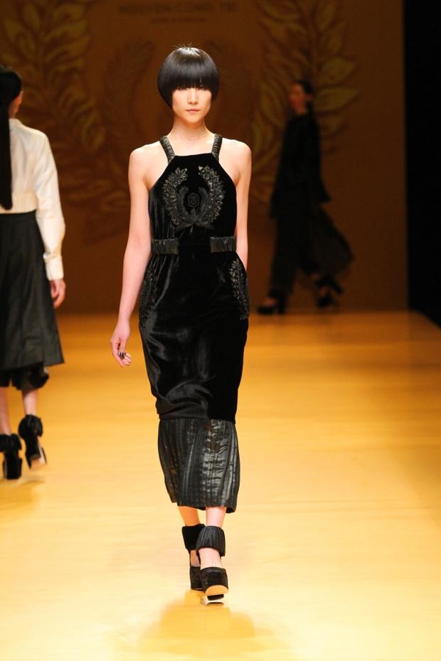 NTK Công Trí mang hồn lúa Việt đến Tokyo Fashion Week - Ảnh 8.