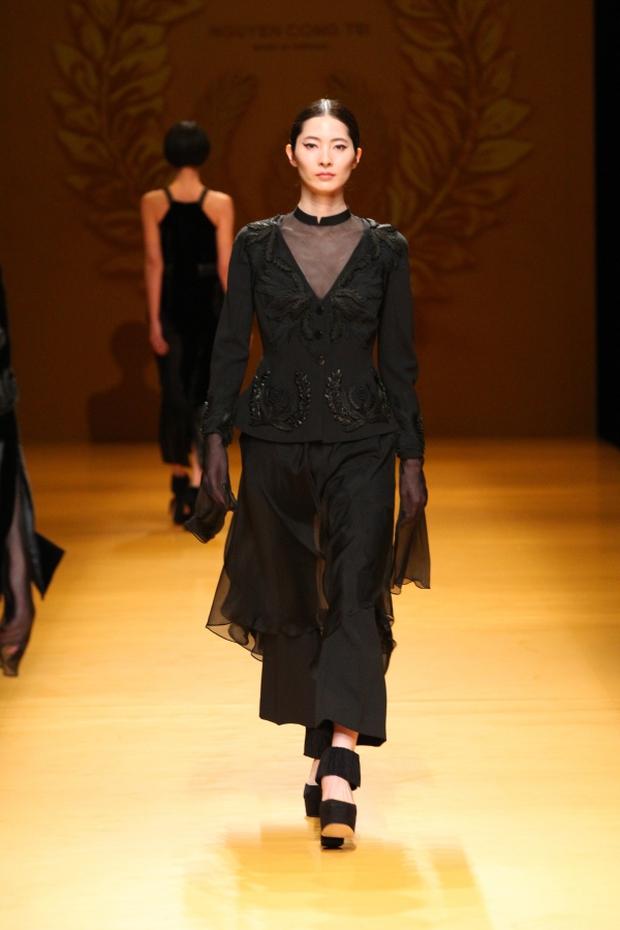 NTK Công Trí mang hồn lúa Việt đến Tokyo Fashion Week - Ảnh 10.