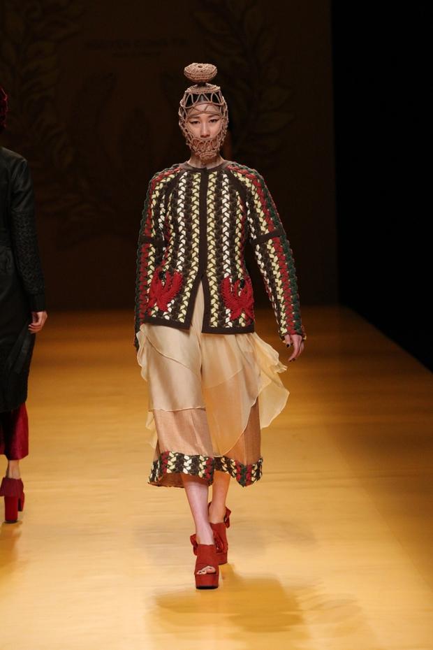 NTK Công Trí mang hồn lúa Việt đến Tokyo Fashion Week - Ảnh 22.