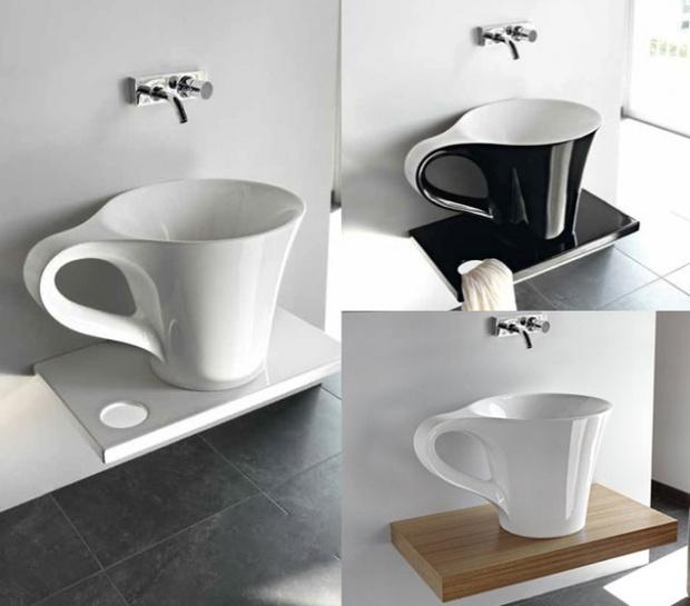 14 bồn rửa ấn tượng khiến bạn muốn nghịch nước suốt ngày - Ảnh 2.