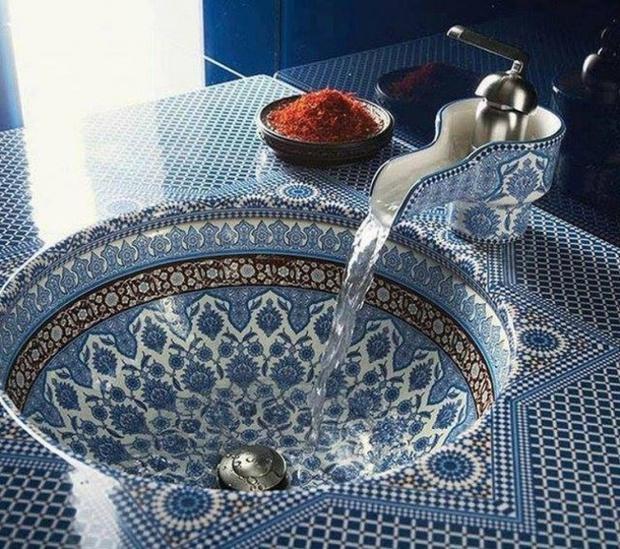 14 bồn rửa ấn tượng khiến bạn muốn nghịch nước suốt ngày - Ảnh 6.
