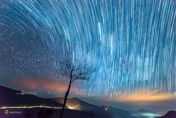 Mê mẩn ngắm mưa sao băng đẹp nhất năm trên Tà Xùa được quay bởi nhiếp ảnh Việt - Ảnh 3.