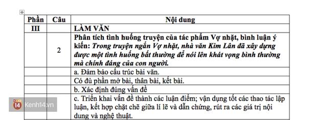 HOT: Gợi ý giải đề môn Ngữ văn THPT Quốc gia - Ảnh 6.