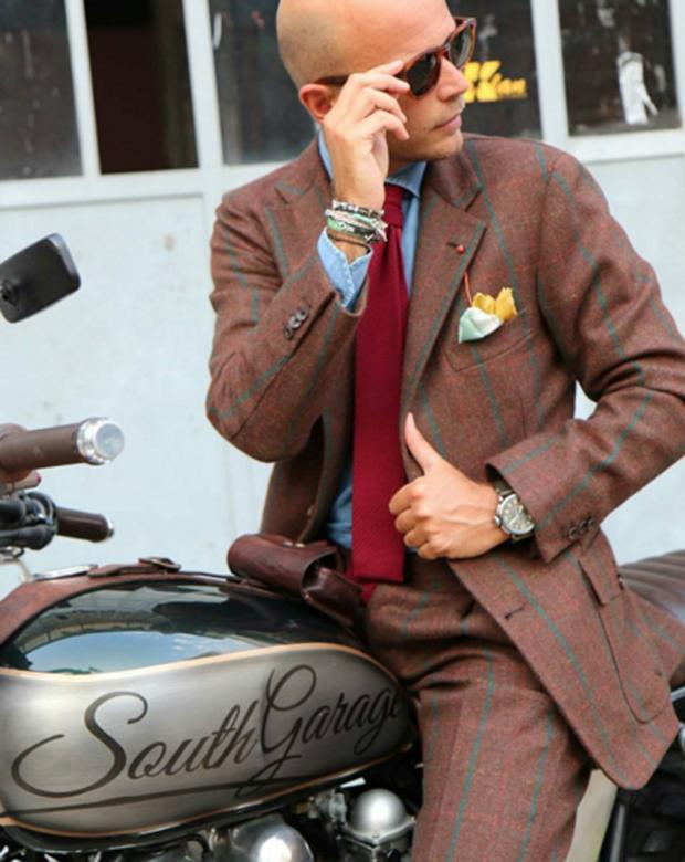 Mặc suit đi motor: Một phong cách vừa ngầu lại vừa lịch của các chàng - Ảnh 10.