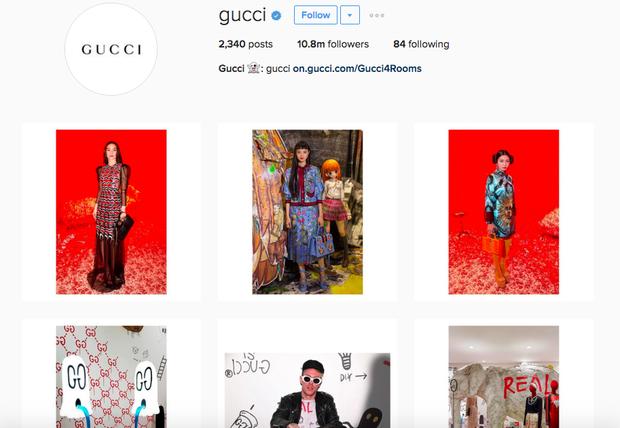 Chẳng nói chẳng rằng, Hồ Ngọc Hà cứ thế mà chễm chệ trên Instagram của Gucci - Ảnh 4.