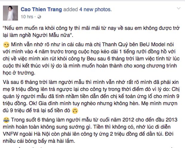 Tiết lộ sốc: Loạt mẫu Hoàng Thùy, Lê Thúy, Kha Mỹ Vân... bị chính ekip Vietnam International Fashion Week cấm diễn? - Ảnh 1.