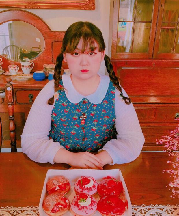 Không thể cưỡng lại vẻ đáng yêu của nàng béo mê màu hồng đến từ Hàn Quốc này - Ảnh 18.
