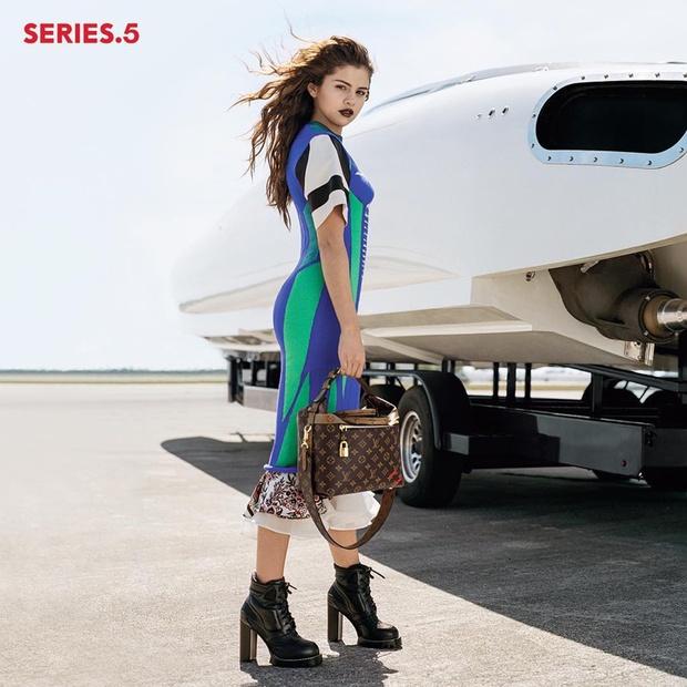 Sau tất cả, Selena Gomez cũng đã trở thành gương mặt của Louis Vuitton - Ảnh 3.