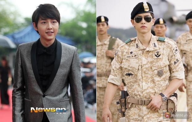 Mấu chốt phong cách giúp Song Joong Ki lột xác thành chàng quân nhân hớp hồn fan nữ - Ảnh 8.