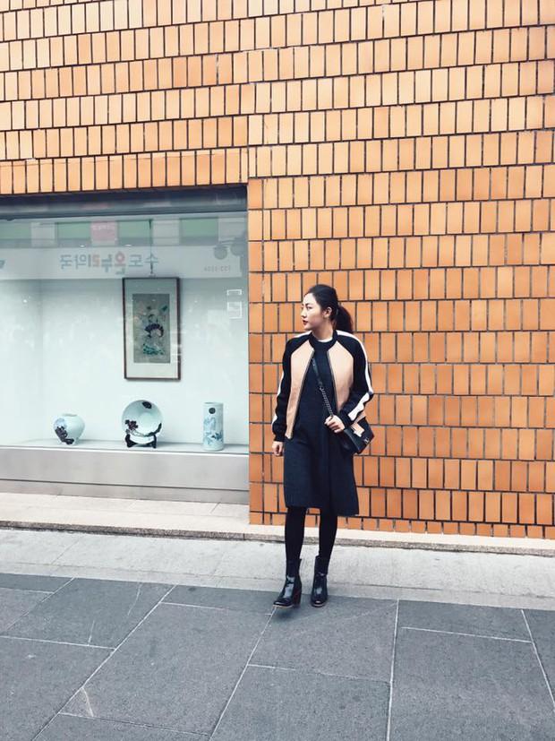 Cô trò Lan Khuê - Mai Ngô nổi nhất tuần qua với street style sành điệu trên đất Hàn - Ảnh 11.