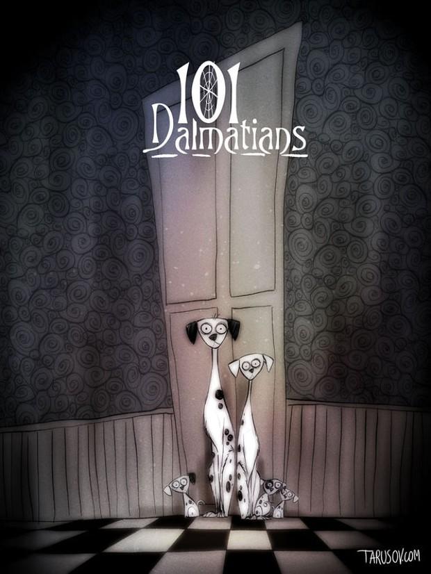 Dàn sao hoạt hình Disney sẽ như thế nào khi đi theo phong cách ma quái? - Ảnh 10.