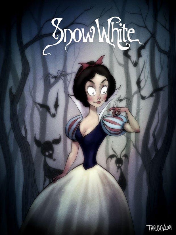 Dàn sao hoạt hình Disney sẽ như thế nào khi đi theo phong cách ma quái? - Ảnh 5.